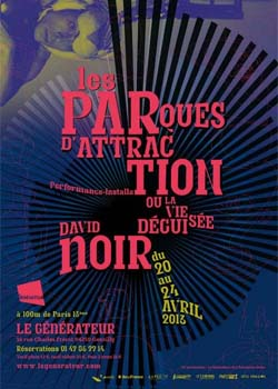 Les Parques d'attraction de David Noir - Affiche Filifox - Philippe Savoir