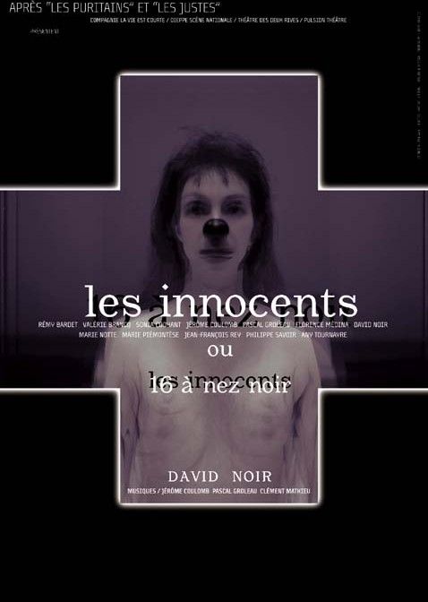 Les Innocents de David Noir - Affiche Filifox - Philippe Savoir - Photo Karine Lhémon
