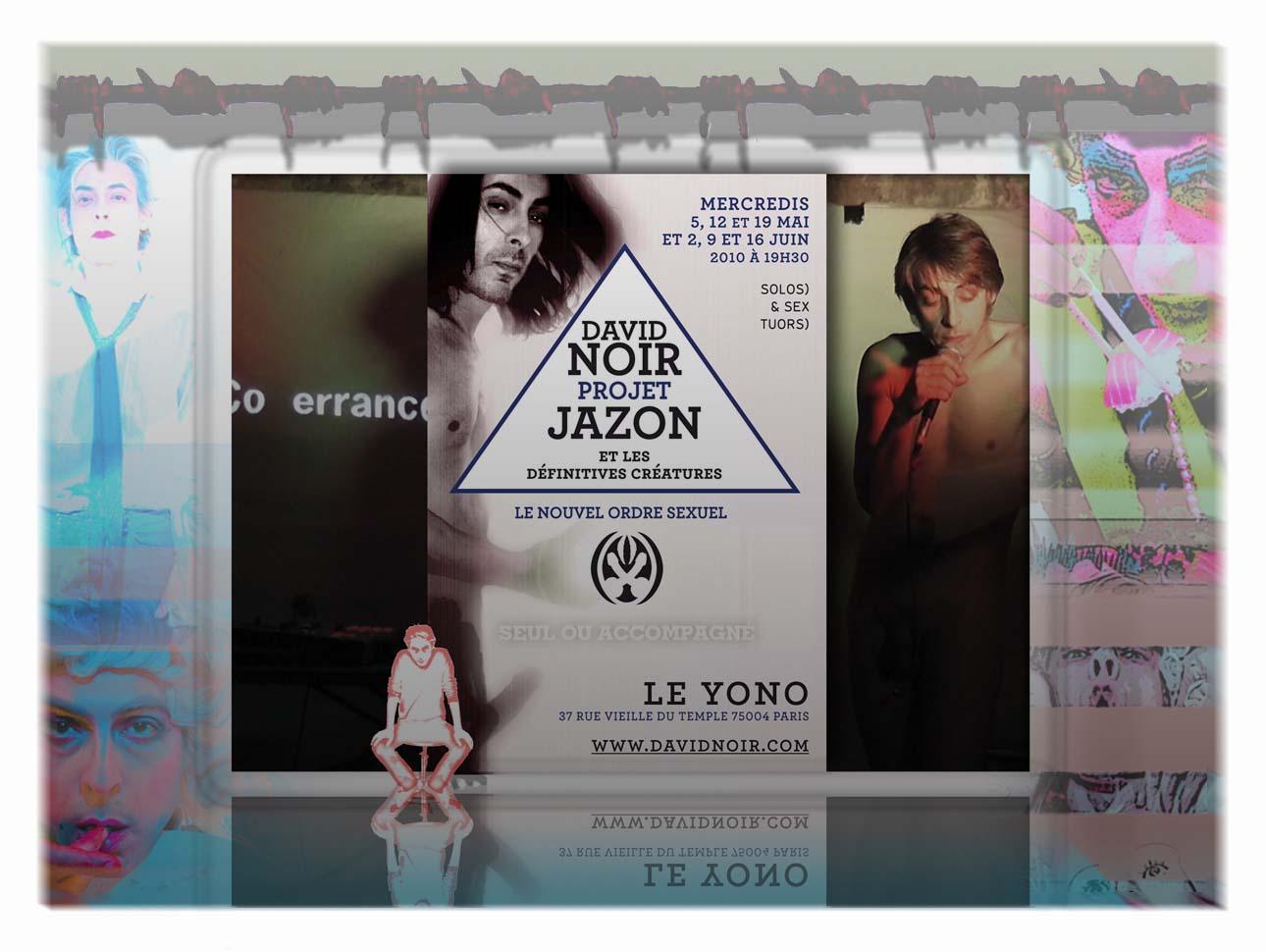 """""""Seul ou accompagné"""" - Performance de David Noir - Cycle Projet JaZon"""