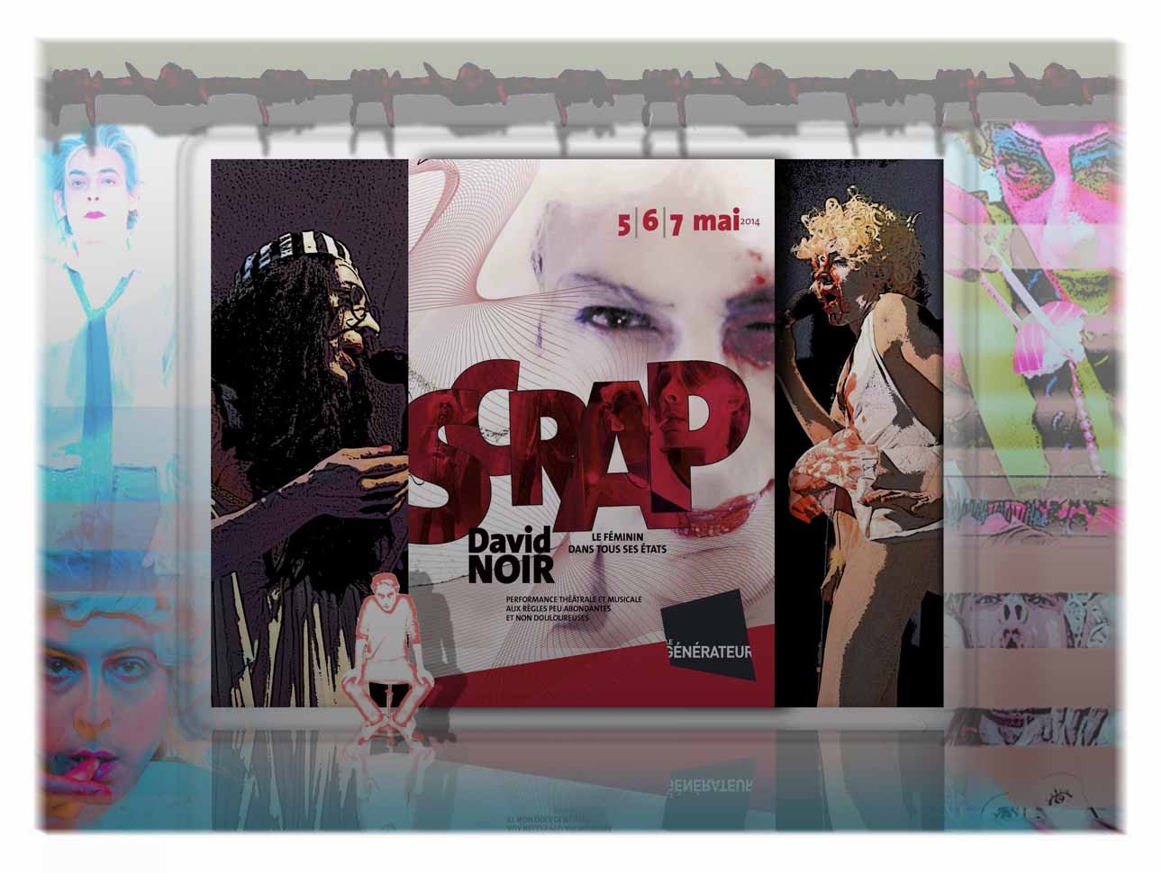 """SCRAP"" - Performance de David Noir et Christophe Imbs"