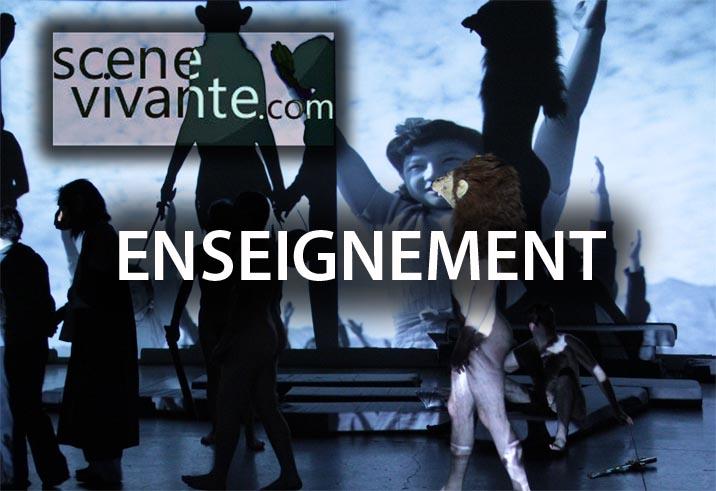 Scène Vivante - David Noir - Pédagogie