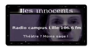 Radio campus Lille - Les Innocents de David Noir