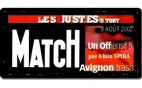 Paris-Match - Les Justes-Story de David Noir