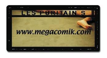 megacomik - Les Puritains de David Noir